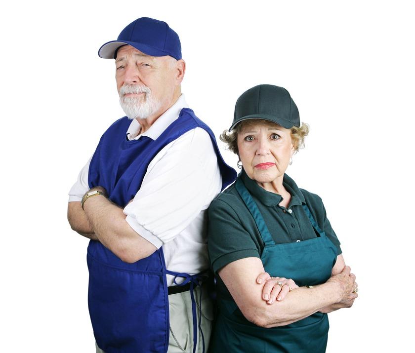 оформление увольнения пенсионера